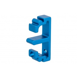 Airsoft Masterpiece Aluminum Puzzle Front Flat Long Trigger (BLUE)