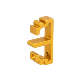 Airsoft Masterpiece Aluminum Puzzle Front Flat Long Trigger (GOLD)