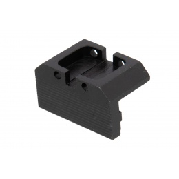Airsoft Masterpiece Aluminum Rear Sight w/ Fiber Optics for Hi-Capa