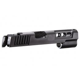 Airsoft Masterpiece S Style Standard Slide for Hi-Capa GBB Pistols (Color: Black)