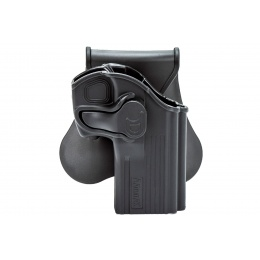 Amomax Tactical Paddle Holster for Taurus 24/7 Airsoft Pistols (Color: Black)
