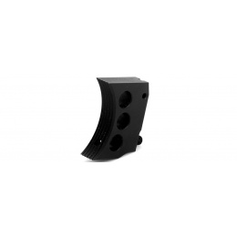 Airsoft Masterpiece Aluminum Trigger Type 4 for Hi-Capa Pistols - BLACK