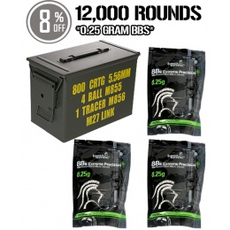 Black November 12,000rd 0.25g BB Blowout Bundle