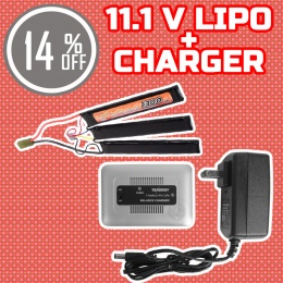 Performance Boost Bundle: Charger + 11.1V LiPo Nunchuck Battery Bundle