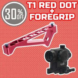 Holiday Upgrade Bundle: Red Dot + KeyMod Foregrip