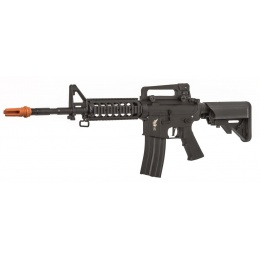 APEX Airsoft Fast Attack RIS M4 Carbine AEG Rifle [Polymer] - BLACK