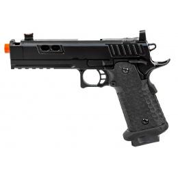 Army Armament R604 Hi-Capa Gas Blowback Airsoft Pistol (Color: Black)