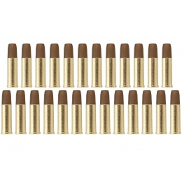 ASG Cartridge 4.5mm for Dan Wesson Box of 25 Pieces (Gold / Tan)