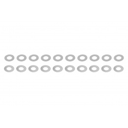 ASG Ultimate Shim Set 10 Pieces 0.1mm and 0.2mm Shims