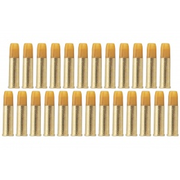 ASG Airsoft Cartridge for Dan Wesson Box of 25 Pieces (Gold)