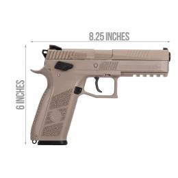 ASG CZ P-09 Duty .177 Cal CO2 Airgun Pistol (FDE)