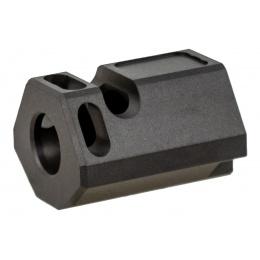 ASG CNC Aluminum Compensator for P-09 OR (Color: Black)
