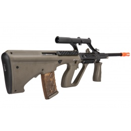 ASG Proline Licensed Steyr AUG A1 Airsoft AEG Rifle w/ Military Style Scope (OD Green)