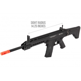 ICS CXP-APE Keymod ACR Style Metal Carbine Electric Blowback AEG Airsoft Rifle (Black)