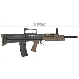 ICS ProLine L85A2 Airsoft AEG Rifle (Black & OD Green)