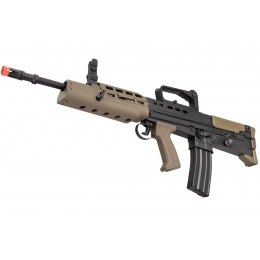 ICS ProLine L85A2 Airsoft AEG Rifle (Black & OD Green)