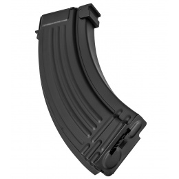 Double Bell 500rd AK47 High Capacity Airsoft Magazine for AK AEGs - BLACK
