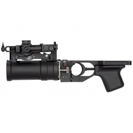 Double Bell GP-30 Style AK Series Airsoft Grenade Launcher - BLACK