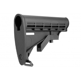 Double Bell M4 Retractable LE Stock w/ Sling Mount - BLACK