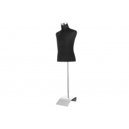 Lancer Tactical Mannequin w/ Stand - BLACK