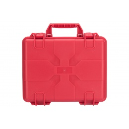 Lancer Tactical Universal Polymer Gun Case - RED
