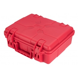 Lancer Tactical Universal Polymer Gun Case - RED