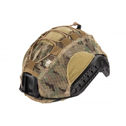 Lancer Tactical BUMP Helmet Cover  - CAMO