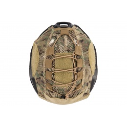 Lancer Tactical BUMP Helmet Cover  - CAMO