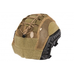 Lancer Tactical BUMP Helmet Cover - TAN