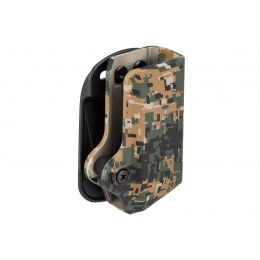 Lancer Tactical Single Magazine Pouch for Glock 17 - DIGITAL WOODLAND