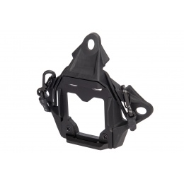 Lancer Tactical NVG Shroud w/ Stabilizing Bungee - BLACK