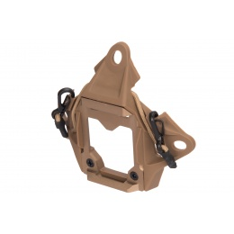 Lancer Tactical NVG Shroud w/ Stabilizing Bungee - TAN