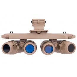 Lancer Tactical Dummy AN / AVS10 NVG Night Vision Goggles - TAN