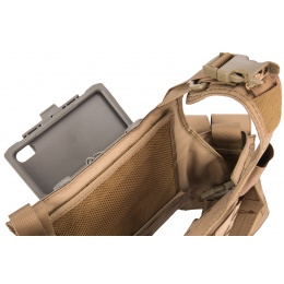 Lancer Tactical iPhone XS Max MOLLE Mobile Case - FOLIAGE
