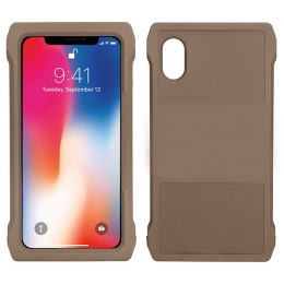 Lancer Tactical iPhone XS Max MOLLE Mobile Case - TAN