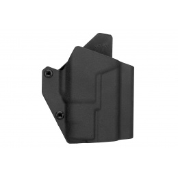 Lancer Tactical Light Bearing Hard Shell Holster for Glock 17 - BLACK