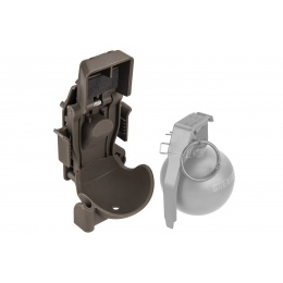Lancer Tactical Quick Release Sleeve for M67 Grenade - FOLIAGE