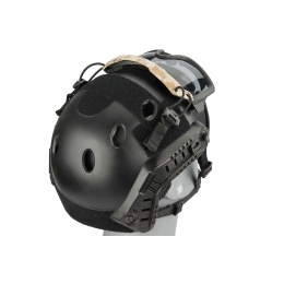 Lancer Tactical Helmet Safety Goggles [Smoke Lens] - AOR1