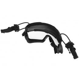 Lancer Tactical Helmet Safety Goggles - BLACK