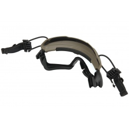 Lancer Tactical Helmet Safety Goggles - FOLIAGE