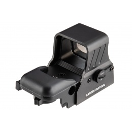 Lancer Tactical 4-Reticle Red/Green Dot Reflex Sight w/ QD Mount - BLACK