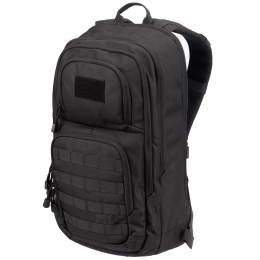 Lancer Tactical 1000D EDC Commuter MOLLE Backpack w/ Concealed Holder - BLACK