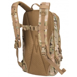 Lancer Tactical 1000D EDC Commuter MOLLE Backpack w/ Concealed Holder - CAMO