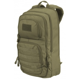 Lancer Tactical 1000D EDC Commuter MOLLE Backpack w/ Concealed Holder - OD GREEN