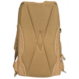 Lancer Tactical 1000D EDC Commuter MOLLE Backpack w/ Concealed Holder - KHAKI