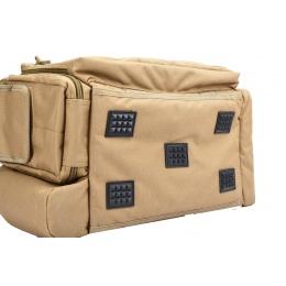 Lancer Tactical Weather Resistant Shooting Range Bag w/ Shoulder Strap (Color: Khaki)