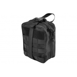 Lancer Tactical Admin Pouch w/ Molle (Black)