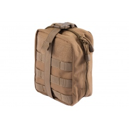 Lancer Tactical Admin Pouch w/ Molle (Color: Khaki)