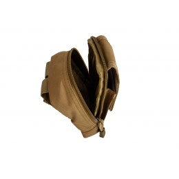 Lancer Tactical Small Utility Pouch (Khaki)