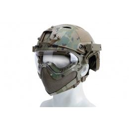 WST Pilot Helmet (Steel Mesh Version Camo)